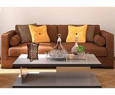 Näve Leuchten 339714 - Lámpara de mesa (casquillo E14, 40 W, 230 V, 50 Hz, 30 x 16 x 16 cm, bombilla no incluida, mimbre y plástico), color marrón