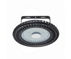 Viugreum UFO LED Lámpara de Alta Bahía, Iluminación 250W, Impermeable IP54, Iluminación Comercial Luces para Depósitos (Blanco Frío) (2 x 250W)