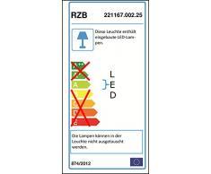 Luminarias rzb 221167.002.25 número de casa de luz led / 5w 226x226x70, m.dämm.SCH