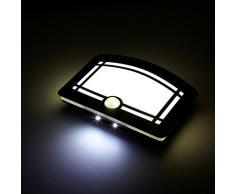 Human Sensing Led luz de la noche de la luz ajustable dormitorio lámpara de cabecera con pilas del sensor de movimiento de la luz del armario