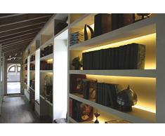 Luminaria fluorescente de 12V y 13W 4200K empalmable, reactancia electrónica, interruptor y tubo incluidos