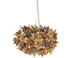 Kartell 9263XR Bloom - Lámpara de techo, color dorado, bronce y cobre