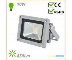 Foco Proyector de LEDs para Exterior 10W 850lm 12-24VDC - Color - Blanco, Tensión - 12VDC