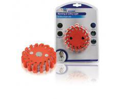 HQ LED-EMC-01 Linterna de Seguridad con 10 Dibujos, Rojo