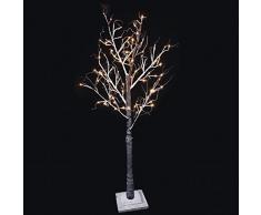 Árbol de Invierno LED de 1,5m apto para exteriores de luz cálida. Consta de 72 leds. Consume solo 3,6W.