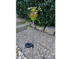 Näve - Baliza solar decorativa, motivo de rana