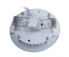 THG 3W blanco c¨¢lido Cree LED de techo luz empotrada en el panel plano abajo se enciende