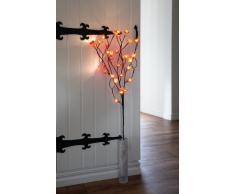 Best Season 731-01 Blossom Branch - Lámpara LED de pie (30 LED, 1 m), diseño de rama con flores