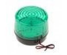 MagiDeal Luz de Advertencia Semáforo Lámpara LED Elegnate Iluminación Alarma Sistema - Verde