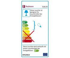 Paulmann 928.05 Interior 6.8W Aluminio - Punto de luz (Interior, Empotrada, Alrededor, LED, Blanco cálido, IP44)