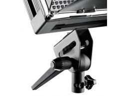 walimex pro Pro LED 1000 - Sistema de iluminación Continua para fotografía, Negro y Blanco