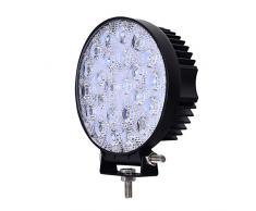 Yunt CREE - Barra de iluminación con focos LED para vehículos (72 W, 12V-24V)