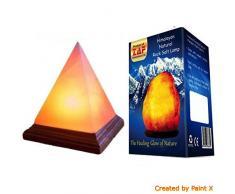 Pirámide forma CRISTAL ROCA DE SAL Lámpara REGALO IDEAL PARA TODAS LAS OCASIONES POR zaf