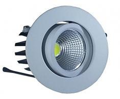 V-TAC 1183 iluminación de techo - Lámpara (Interior, Color blanco, Alrededor, Empotrada, Dormitorio, Salón, Oficina)