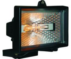 Smartwares 10.036.76 Foco halógeno exterior de 120W 2250lm negro HL120 E27