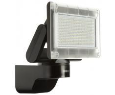 Steinel Xled Home 1 SL 659912 - Foco sensor LED para exterior, proyector con 12 vatios potencia y 920 lm luminosidad, 3700 K color de luz, Foco LED con sistema de refrigeración inteligente, color negro