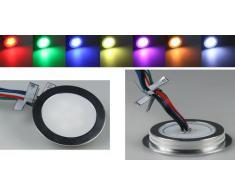EBL Slim - Lámpara empotrada, (de aluminio, grado de protección IP 67, 9 LED)