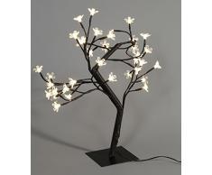 Brauns Heitmann LED decorativas-árbol con flores de cerezo, 36 teilig, 45 cm, luz blanca cálida-blanco 87647