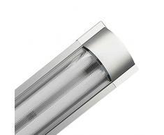 Luminaria Fluorescente 2x36W Tubos T8 G13