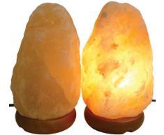 Geofossils - Lámpara de sal del Himalaya (tamaño mediano)
