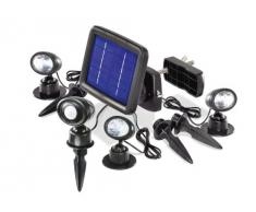 Esotec 102144 Trio PIR - Focos solares con Sensor de Movimiento