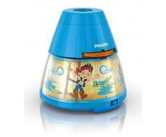 Philips Disney Jake - Proyector y luz nocturna 2 en 1 LED, color azul