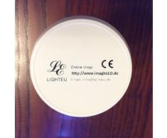 RGB + WW LED Bombilla 7 W Original lighteu®, intensidad regulable, cambio de color RGB, 3 fases Foco para sistema de raíles rieles Foco Lámpara de rieles/también Via extra mando a distancia o extra WLAN Controller ansteuerbar