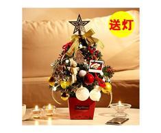 WUFANGFF Mini Árbol De Navidad Luz Desktop Traje De Árbol De Navidad Christmas Tree Decoraciones,A50Cm