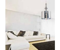 Faro 66179 - Quo lámpara colgante, color cromo