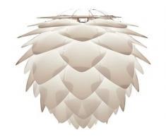 Lámpara de Techo colgante automontable, colección Silvia de la Marca Vita. Color Blanco (Diámetro 45cm)