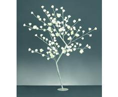 Árbol de la flor de Rose blanca del LED de 1.2m - uso de interior y al aire libre