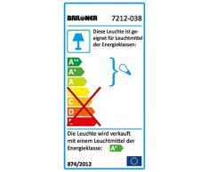Briloner Leuchten LED empotrada conjunto de 3, empotrable, orientable, baño/baño apto, cromo 7212-038