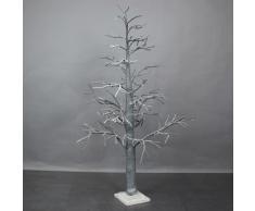 De árbol de Navidad árbol de navidad de plástico-árbol de Navidad luminoso, altura 110 cm