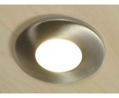 ABLAI0149-2 - Foco halógeno reflector empotrable (níquel cepillado), color plateado