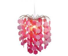 Näve 6008519 - Lámpara de techo colgante, color rosa