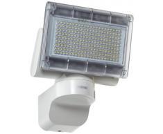 Steinel Xled Home 1 SL 659813 - Foco sensor LED para exterior, proyector con 12 vatios potencia y 920 lm luminosidad, 3700 K color de luz, Foco LED con sistema de refrigeración inteligente, color blanco