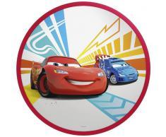 Philips Disney Cars - Plafón, iluminación interior, luz blanca cálida, bombilla led de 7,5 W, plástico, color rojo