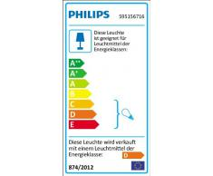 Philips Ara - Foco de pared LED, 1 x 35 W, 220 V, color blanco