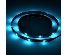 Vansky® Sesgo de Iluminación en el kit del sistema de iluminación de acento HDTV USB-tira del LED Multi Color RGB LED de neón de pantalla plana LCD TV, PC de escritorio (reducir la fatiga ocular y aumentar la claridad de la imagen)