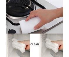 Redredfire Juego de 10 esponjas mágicas para limpiar platos de cocina, esponja, suciedad, herramienta de limpieza para oficina, pared o coche