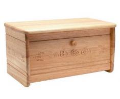 GTT T&G Heritage - Panera con tapa abatible, en madera de caucho