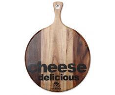 Renberg Easy Kitchen - Tabla de corte de queso, 30,5 x 41 x 1,5 cm, madera