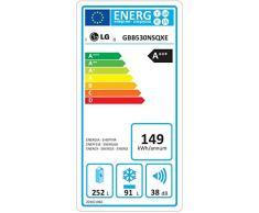 LG GBB530NSQXE congeladora - Frigorífico (Independiente, Grafito, Acero inoxidable, Derecho, 343L, 377L, SN, T)