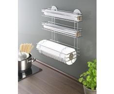 Portarrollos de aluminio compra barato portarrollos de aluminio online en livingo - Portarrollos cocina pared ...