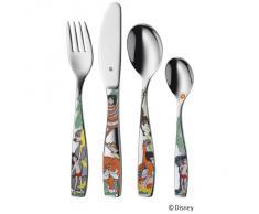 WMF Disney El Libro de la Selva - Cubertería para Niños 4 piezas (tenedor, cuchillo de mesa, cuchara y cuchara pequeña) (WMF Kids infantil)
