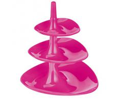Koziol BETTY - Frutero, 3 plantas, color rosa sólido