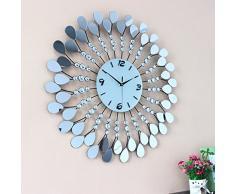 Creative Light- Creative Acrylic Reloj de pared de arte de lujo Mute Living Room Clocks