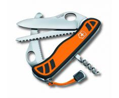Victorinox Hunter 0.8341.MC9 - Navaja multiusos de bolsillo, color negro y naranja