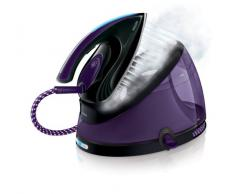 Philips GC8650/80 - Centro de planchado, autonomía ilimitada, OptimalTemp, 6,2 bares, vapor continuo de 120 g/min, 2,5 l, color morado