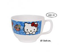 Hello kitty - Taza jumbo melamina, 680ml.